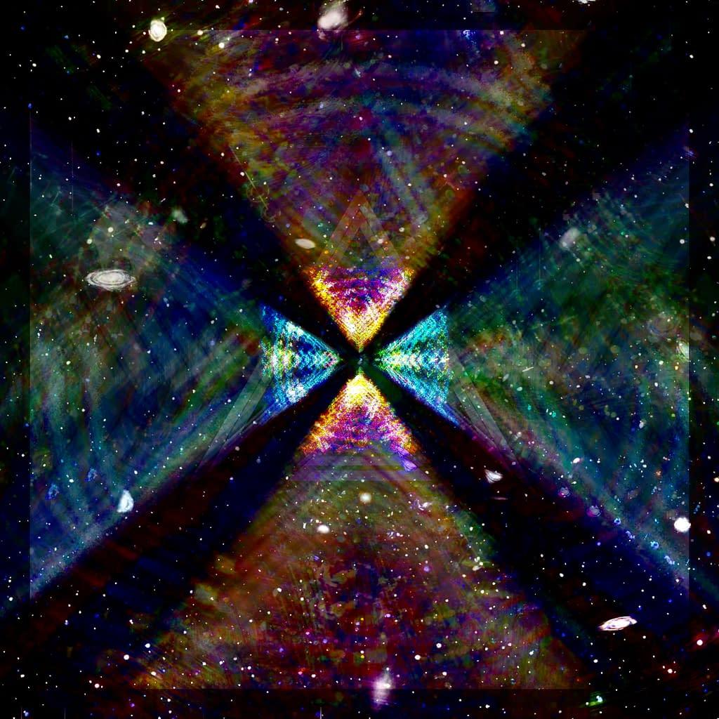 Dimensional fractal - Graphics - Vallax emblem unfolding into infinite dimensions