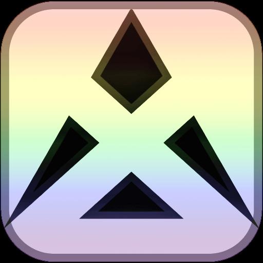 Logo Favicon - Graphics - My logo favicon uses a pale multicolour color scheme to stand out.